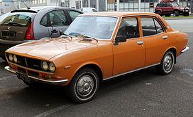 Mazda 616 1970 - 1978 Sedan #8