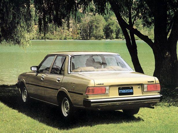 Mazda 626 I (CB) 1978 - 1982 Sedan #3