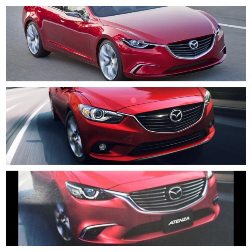 Mazda Atenza III Restyling 2014 - now Sedan #1