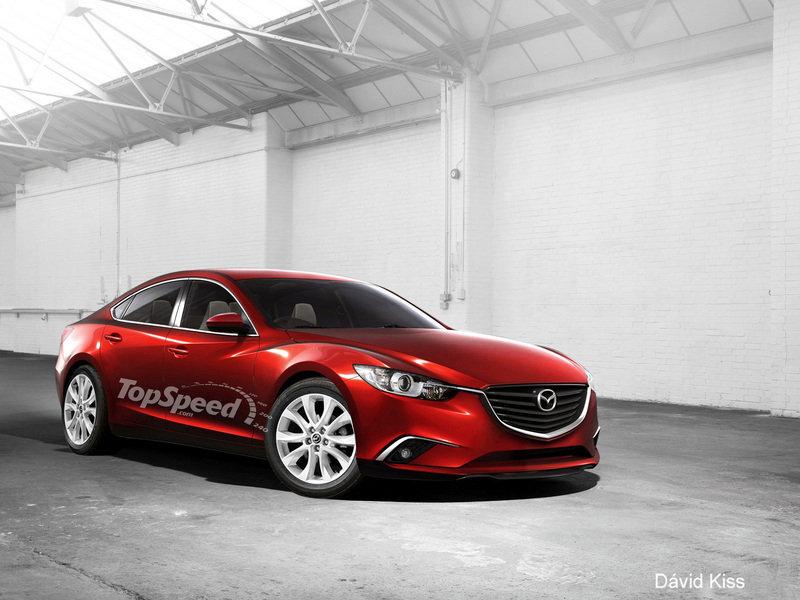 Mazda Atenza III Restyling 2014 - now Station wagon 5 door #1