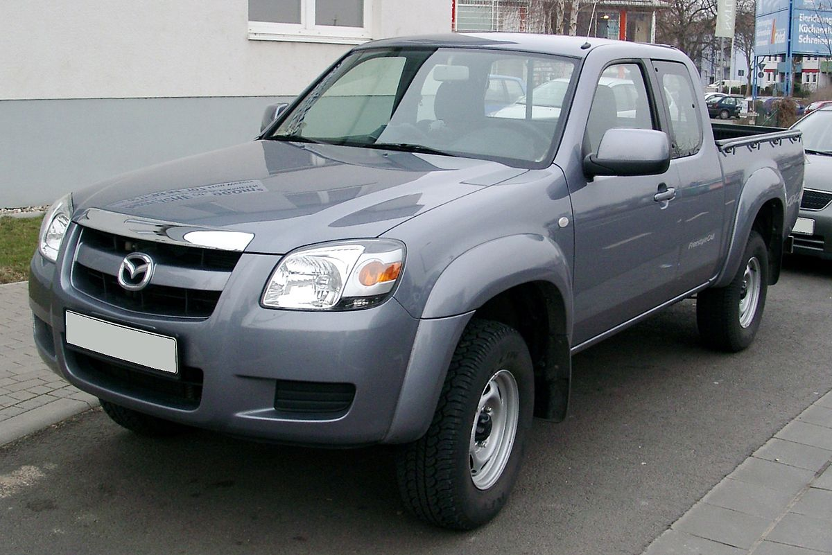 Mazda BT-50 I 2006 - 2008 Pickup #8