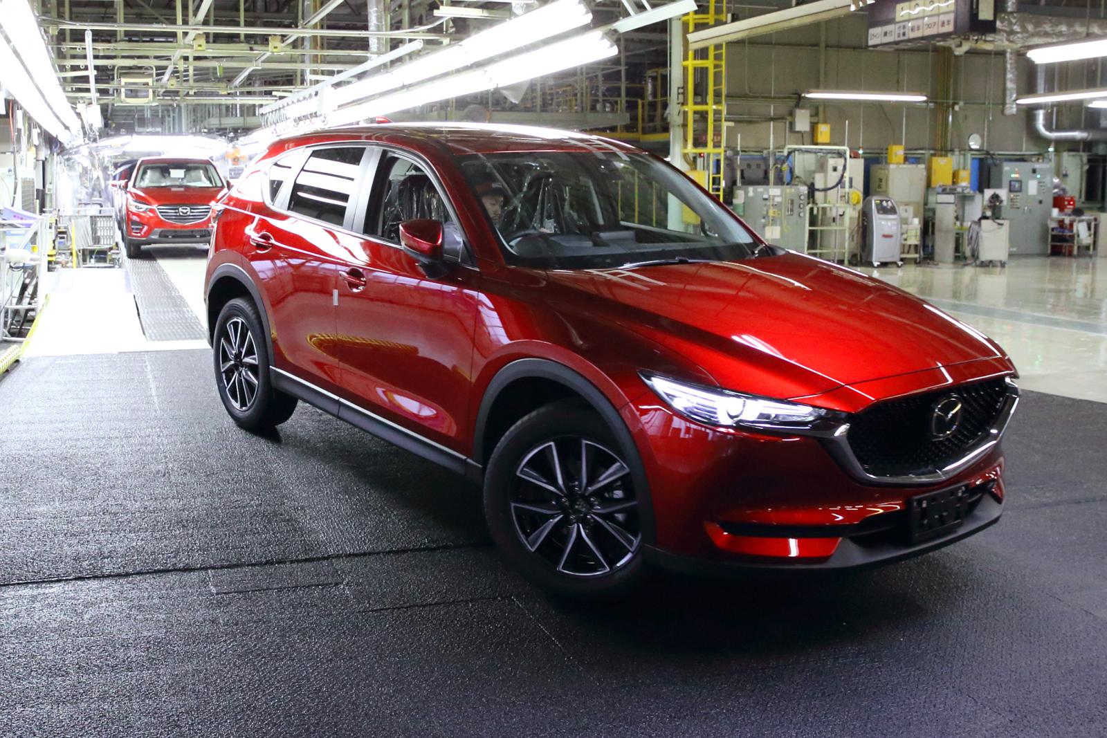 Mazda CX-5 II 2017 - now SUV 5 door #1