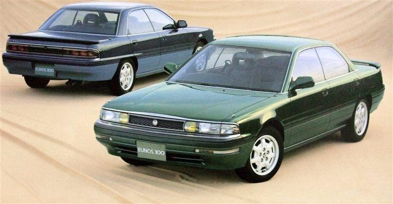 Mazda Eunos 300 1989 - 1992 Sedan #1