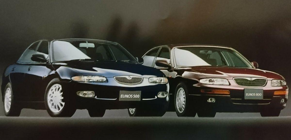 Mazda Eunos 500 1991 - 1996 Sedan #3