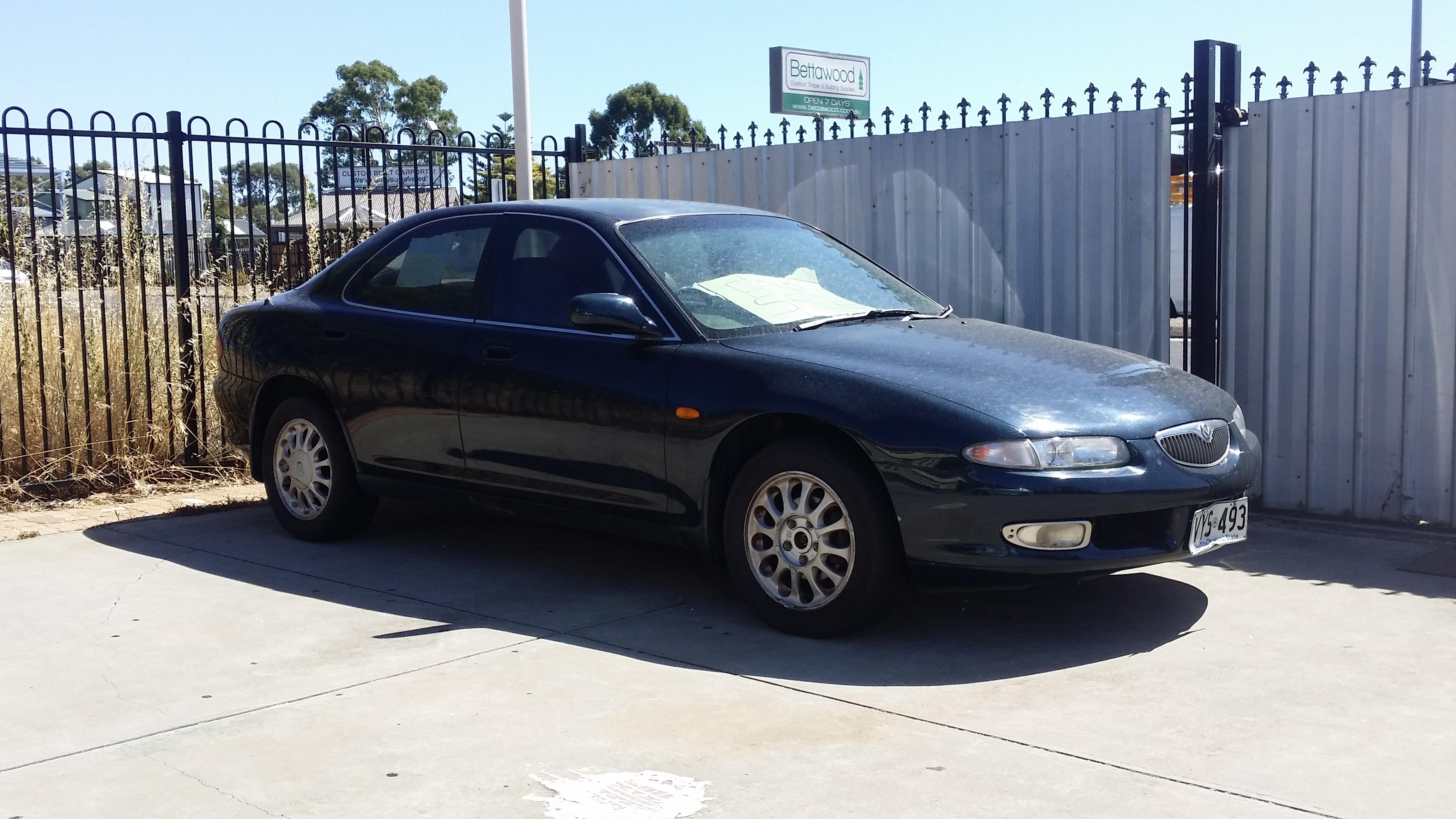 Mazda Eunos 500 1991 - 1996 Sedan #4