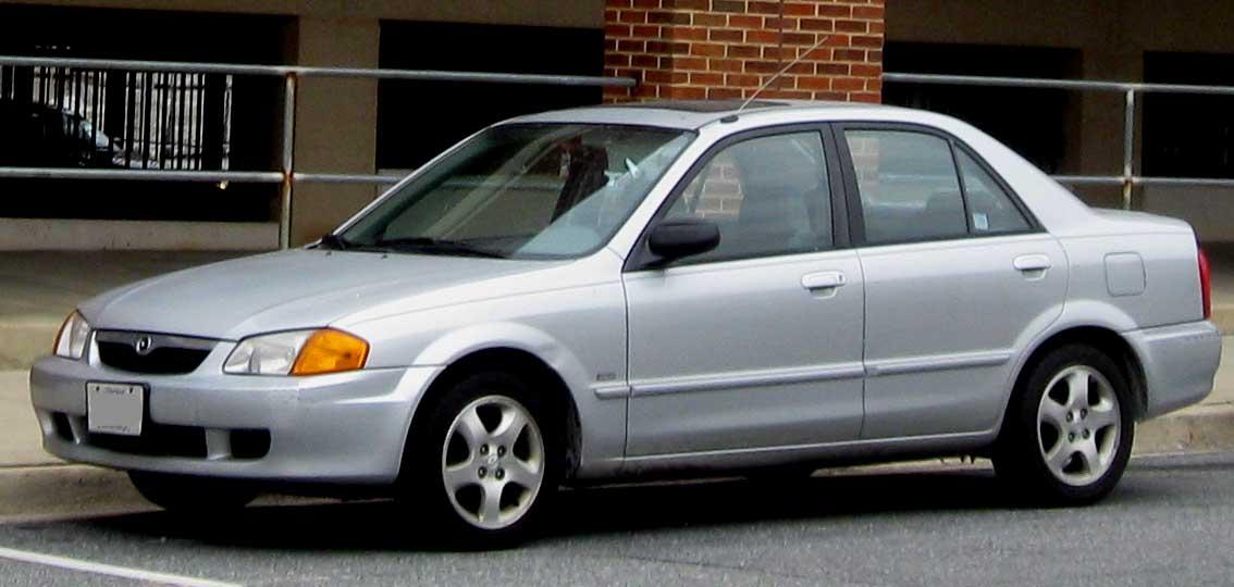 Mazda Protege III (BJ) 1998 - 2004 Sedan #8