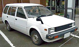 Nissan AD I 1990 - 1996 Station wagon 3 door #8