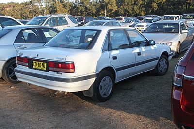 Mazda Persona 1988 - 1992 Sedan #2