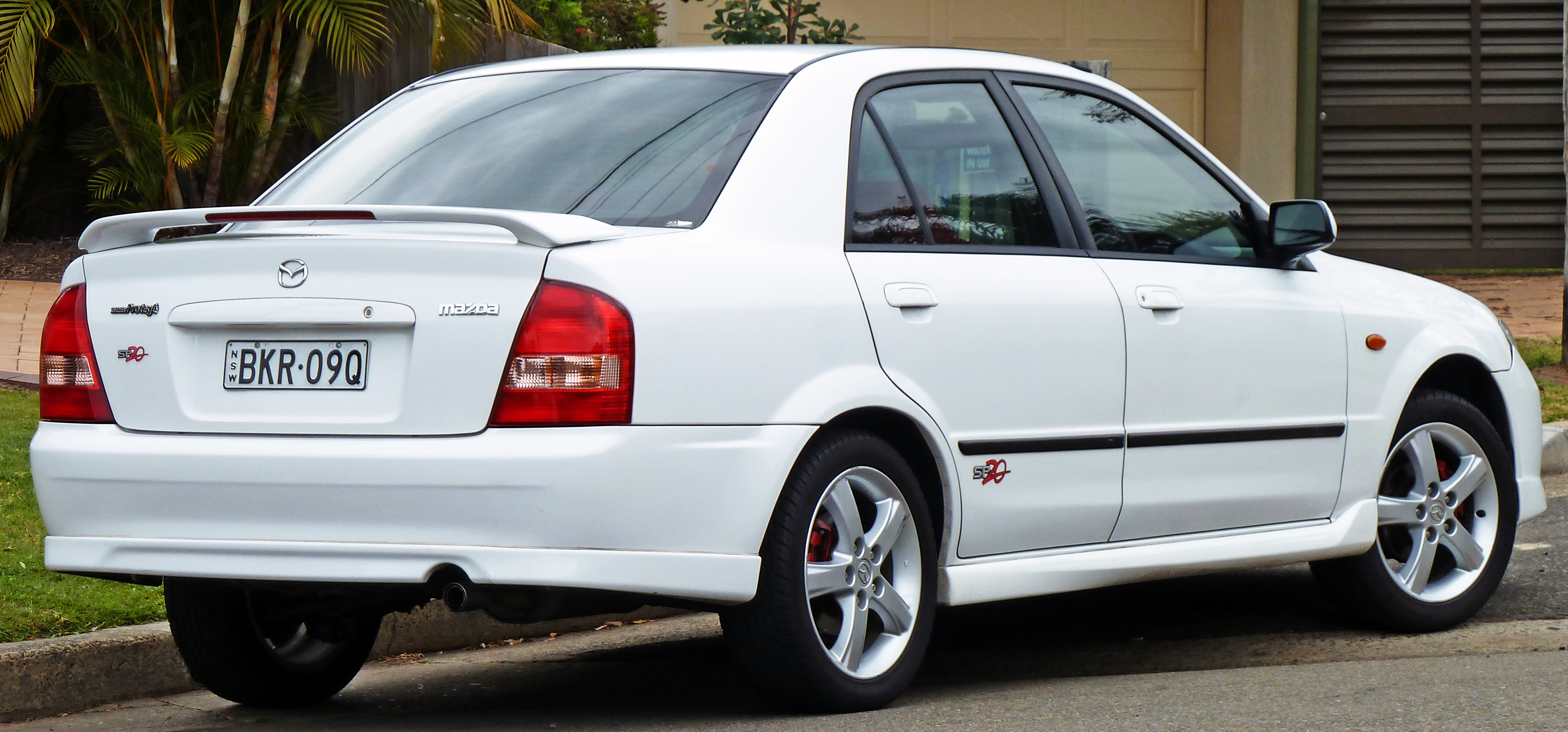 Mazda Protege III (BJ) 1998 - 2004 Sedan #1