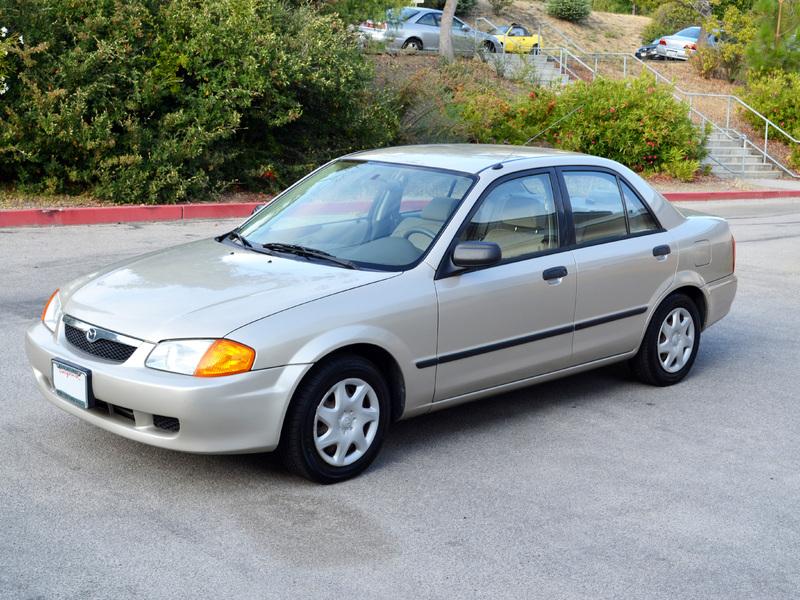 Mazda Protege III (BJ) 1998 - 2004 Sedan #5