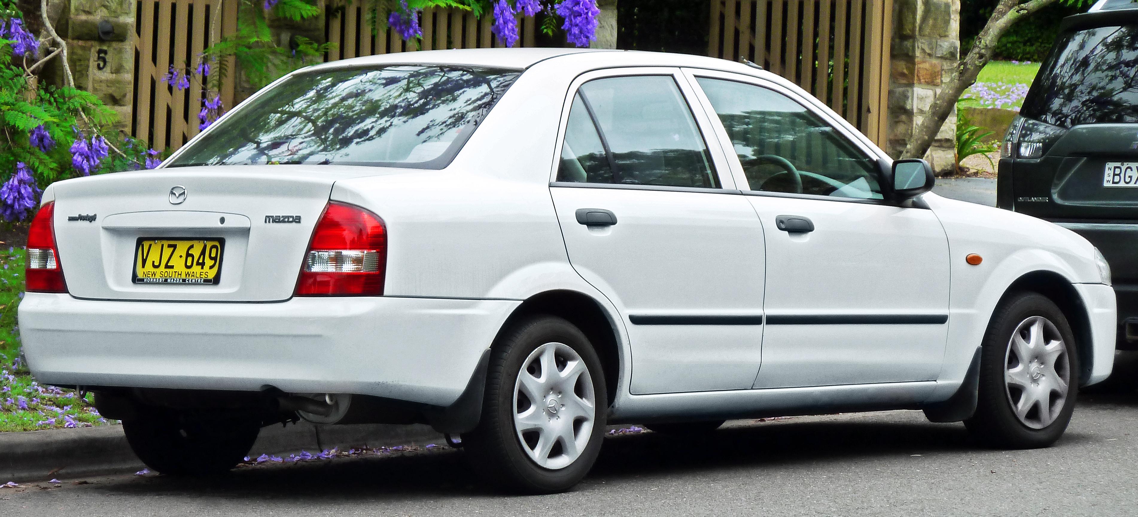 Mazda Protege III (BJ) 1998 - 2004 Sedan #3