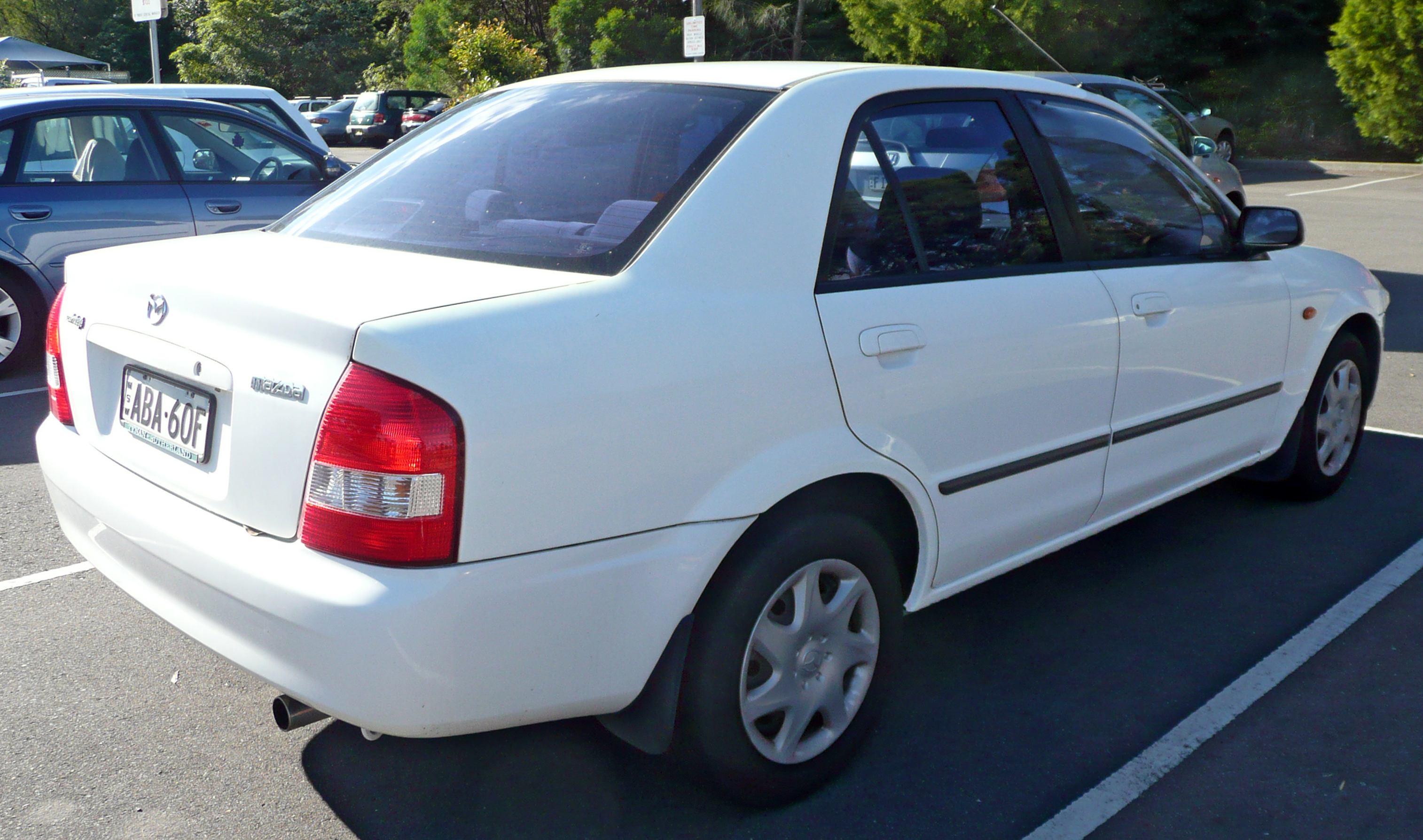 Mazda Protege III (BJ) 1998 - 2004 Sedan #4
