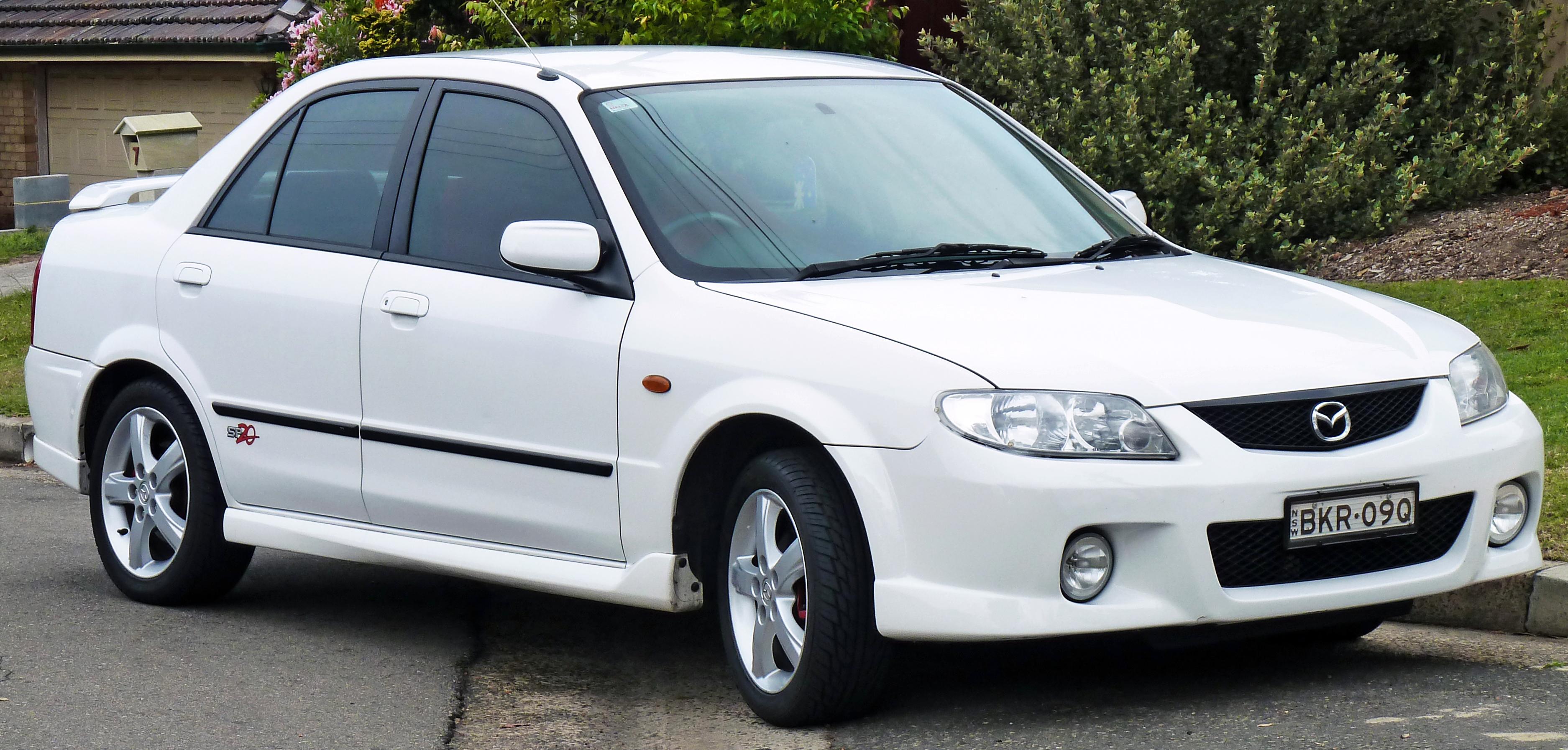 Mazda Protege III (BJ) 1998 - 2004 Sedan #2