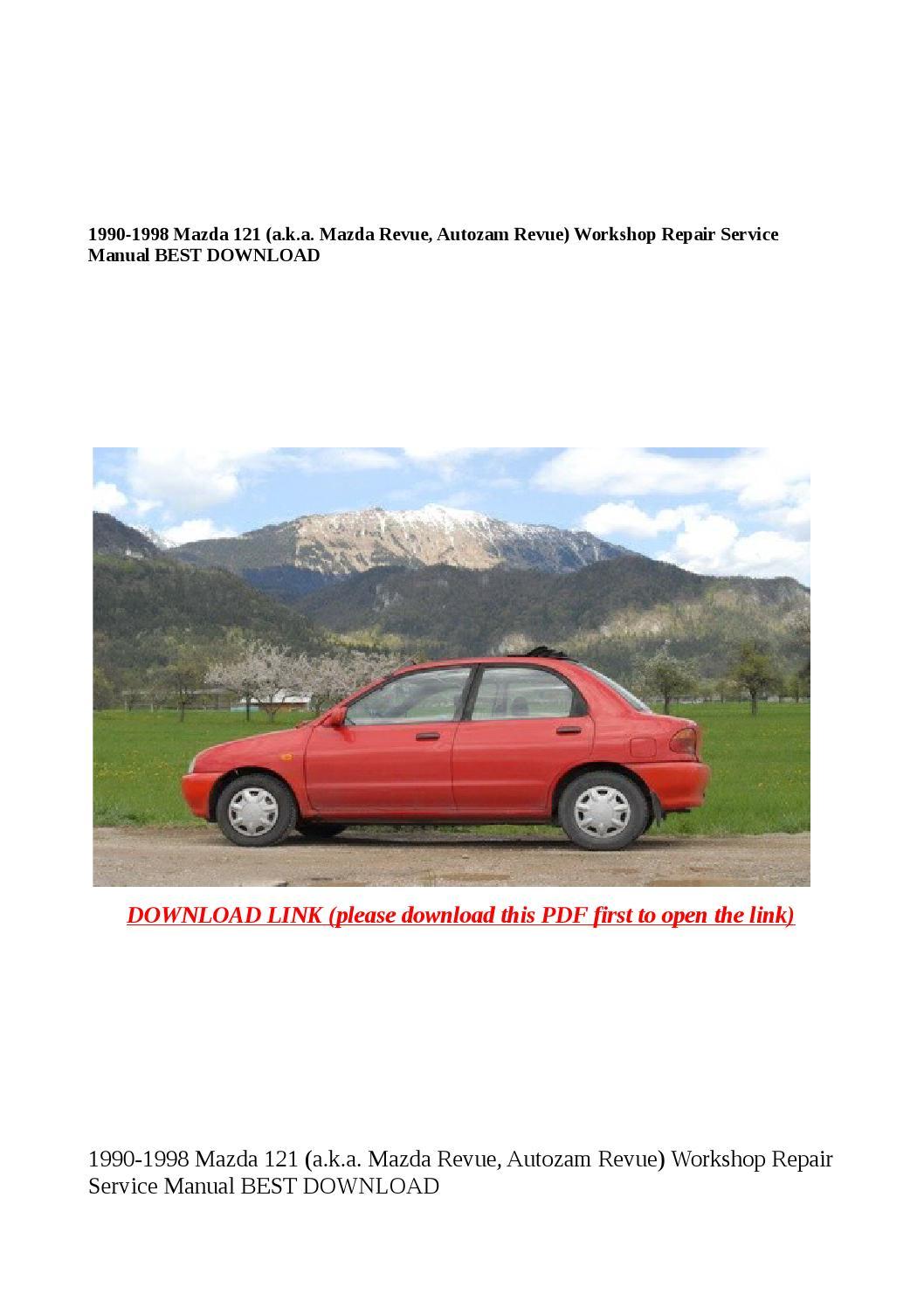 Mazda Revue 1990 - 1998 Sedan #2