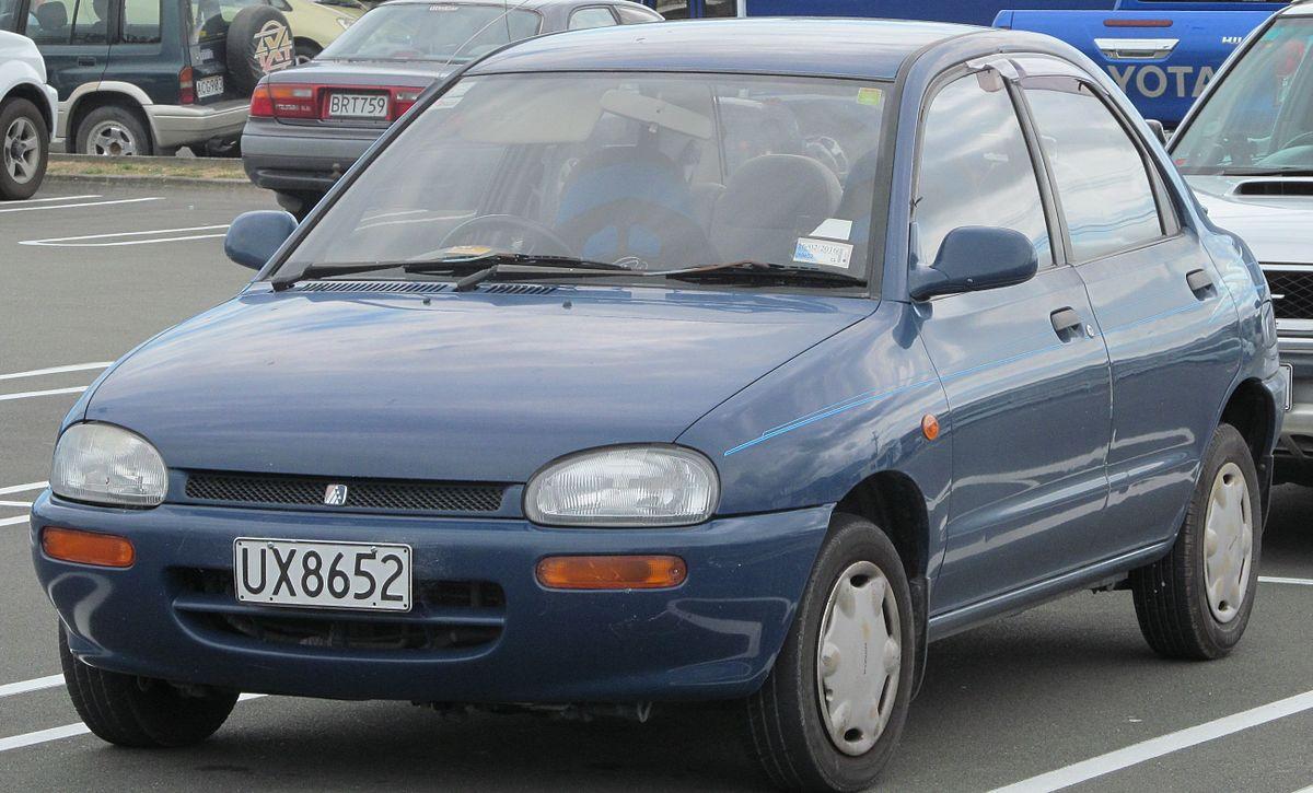 Mazda Revue 1990 - 1998 Sedan #4