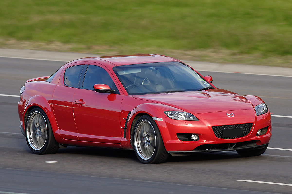 Mazda RX-8 I Restyling 2008 - 2012 Coupe #8