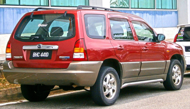 Mazda Tribute I 2000 - 2004 SUV 5 door #4