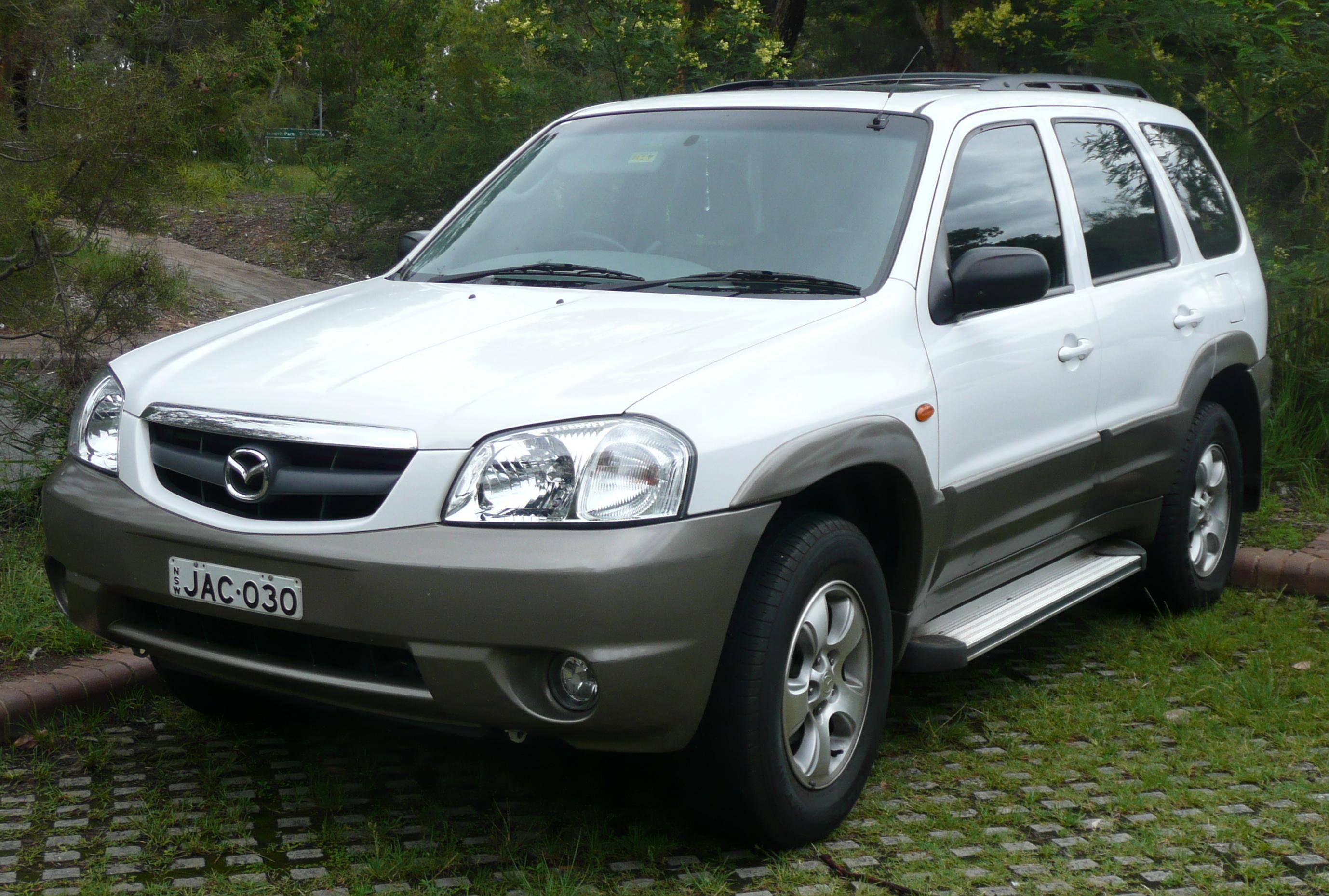 Mazda Tribute I 2000 - 2004 SUV 5 door #3