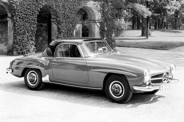 Mercedes-Benz 190 SL R121 1955 - 1963 Roadster #5