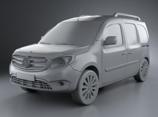 Mercedes-Benz Citan 2012 - now Compact MPV #2