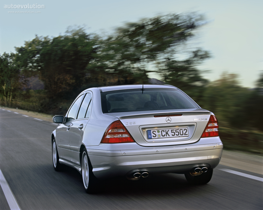 Mercedes-Benz C-klasse AMG II (W203) Restyling 2004 - 2007 Sedan #5