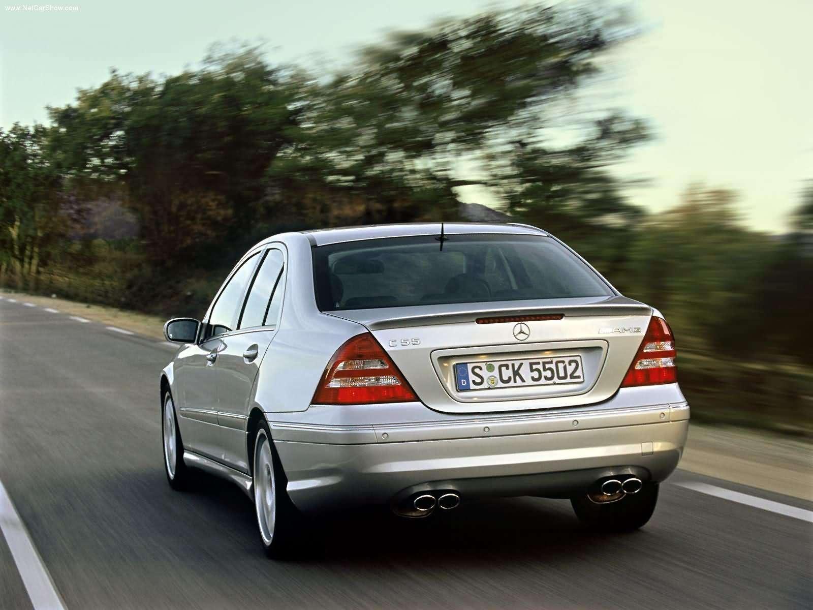 Mercedes-Benz C-klasse AMG II (W203) Restyling 2004 - 2007 Sedan #1