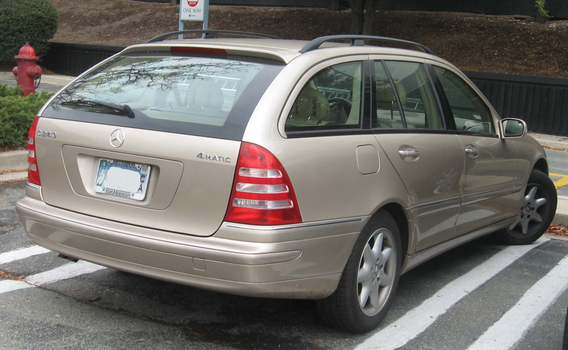 Mercedes-Benz C-klasse I (W202) Restyling 1997 - 2000 Station wagon 5 door #1