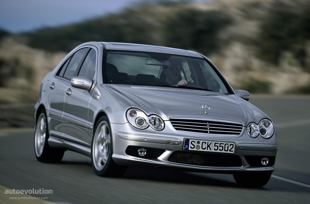 Mercedes-Benz C-klasse AMG II (W203) Restyling 2004 - 2007 Sedan #4