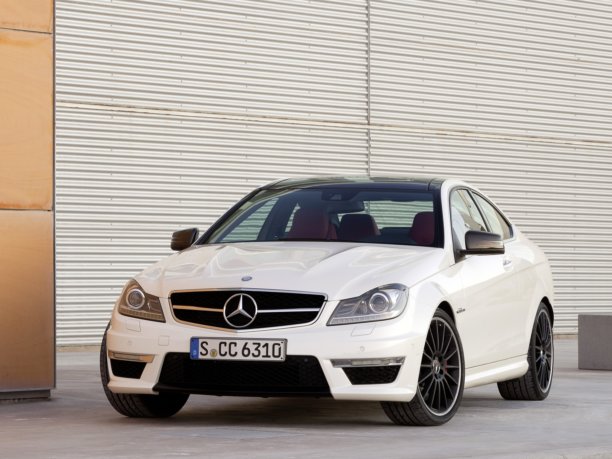 Mercedes-Benz C-klasse AMG III (W204) Restyling 2011 - 2015 Coupe #7