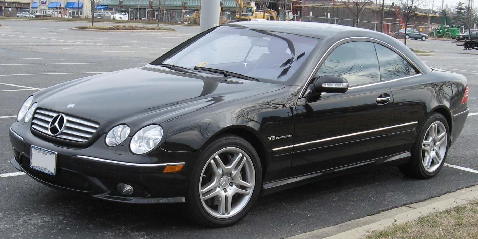 Mercedes-Benz CL-klasse AMG I (C215) 2000 - 2002 Coupe-Hardtop #6