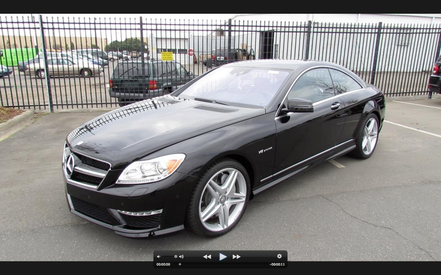 Mercedes Benz Cl Kle Amg Ii C216 Restyling 2010 2017 Coupe