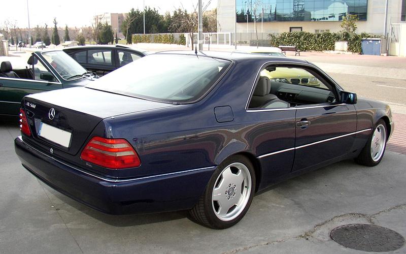 Mercedes-Benz CL-klasse I (C140) 1996 - 1998 Coupe #4