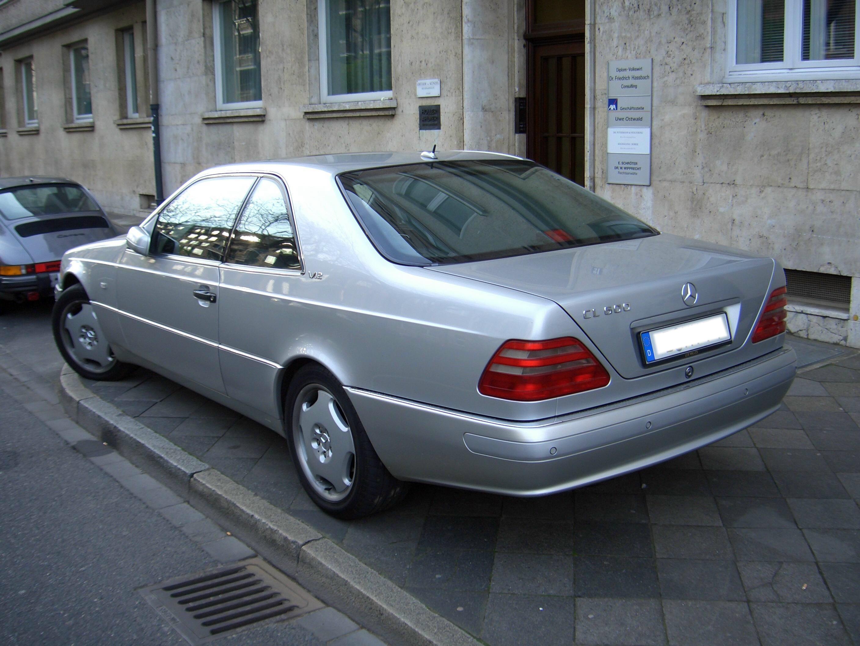 Mercedes-Benz CL-klasse I (C140) 1996 - 1998 Coupe #7