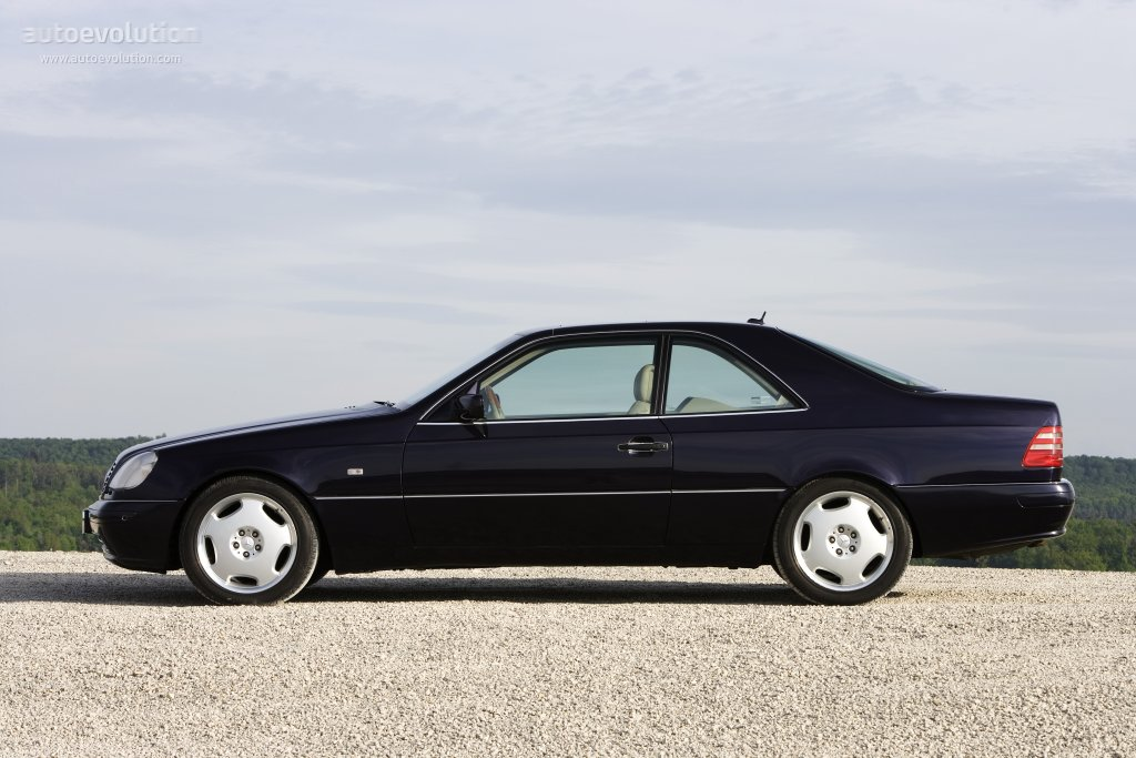 Mercedes-Benz CL-klasse I (C140) 1996 - 1998 Coupe #6