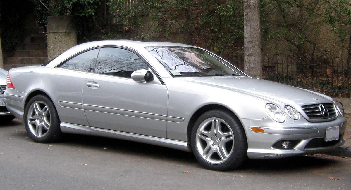 Mercedes-Benz CL-klasse AMG I (C215) 2000 - 2002 Coupe-Hardtop #8