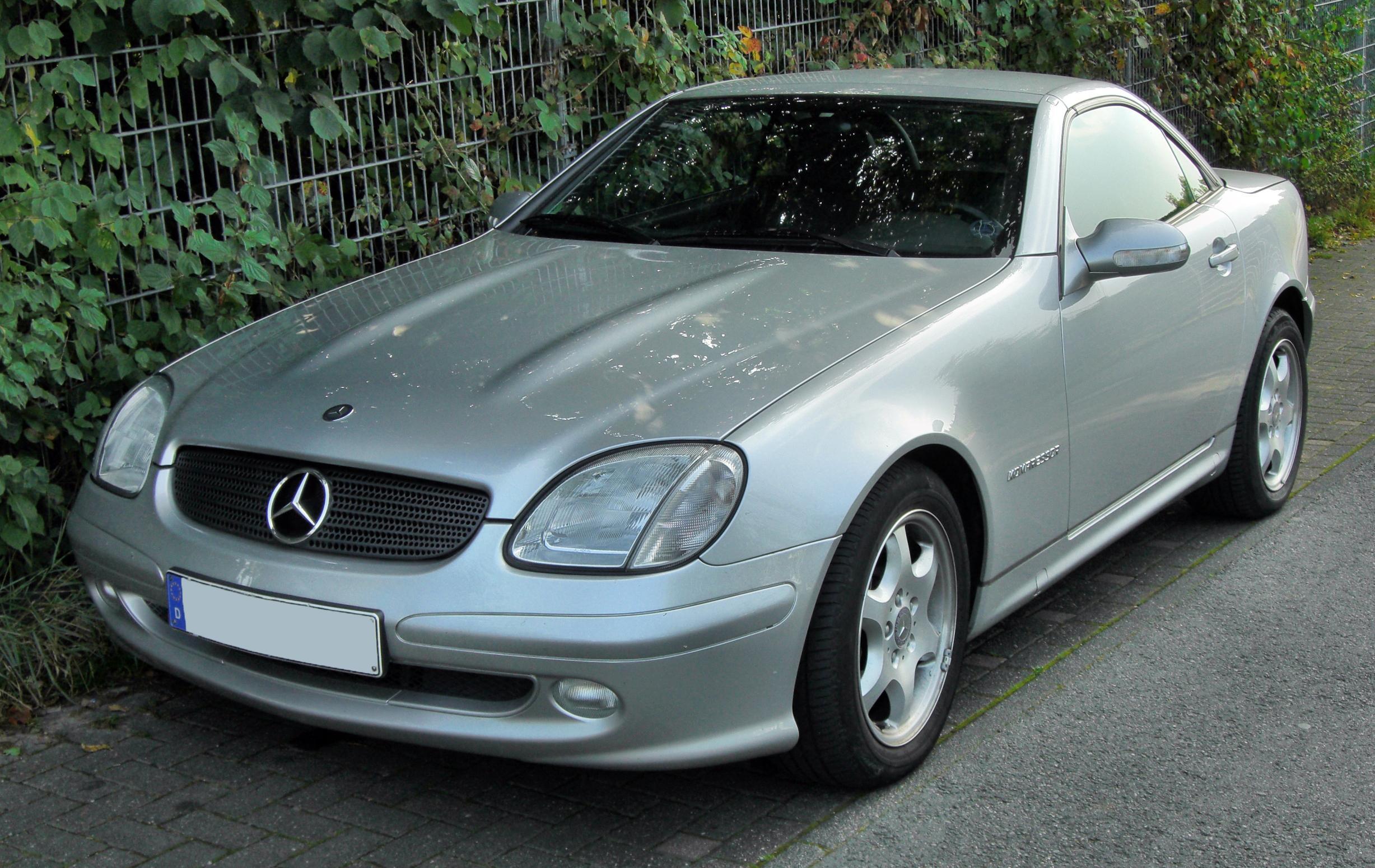 Mercedes-Benz SLK-klasse I (R170) 1996 - 2000 Roadster #8