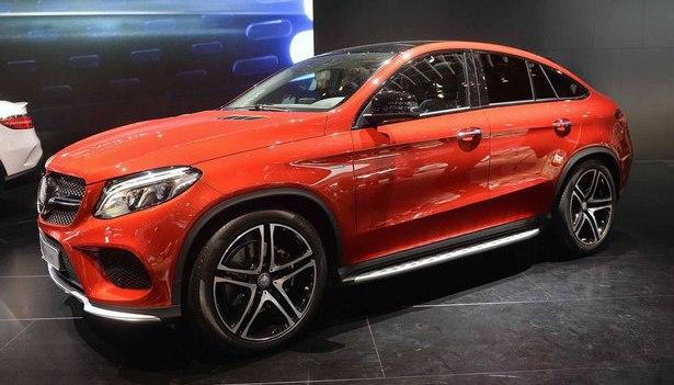 Mercedes-Benz GLE Coupe 2015 - now SUV 5 door #3
