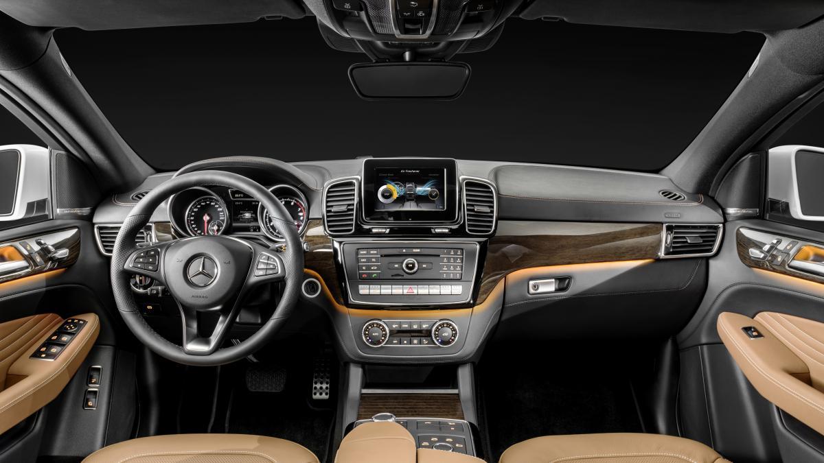 Mercedes-Benz GLE Coupe 2015 - now SUV 5 door #2