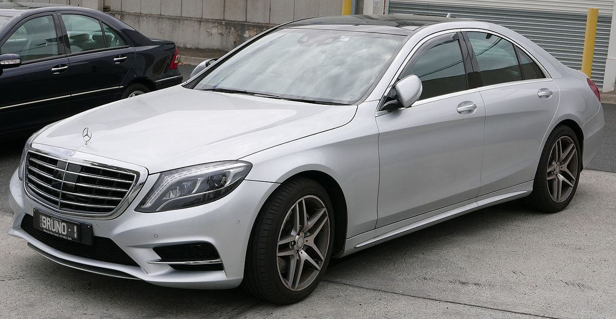 Mercedes-Benz S-klasse VI (W222, C217) Restyling 2017 - now Sedan #8