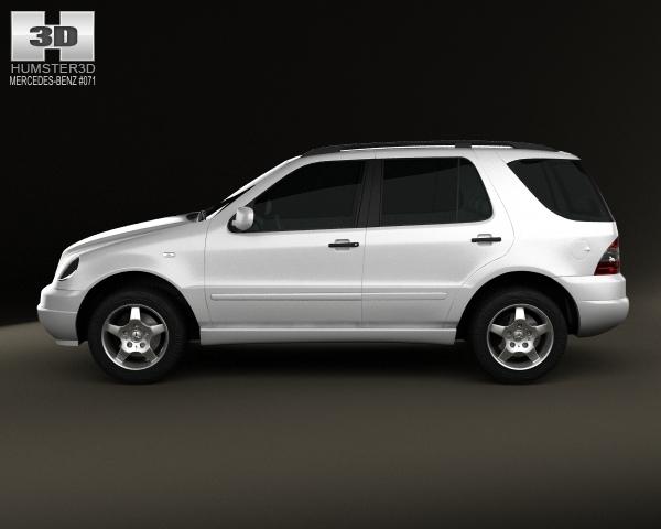 Mercedes-Benz M-klasse I (W163) 1997 - 2001 SUV 5 door #1