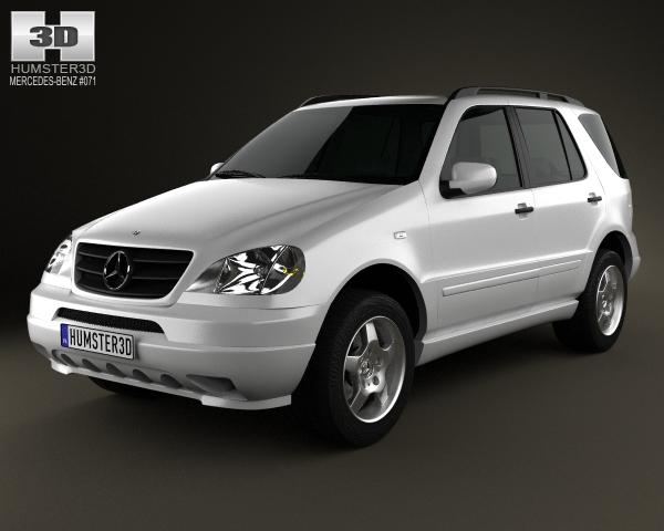 Mercedes-Benz M-klasse I (W163) 1997 - 2001 SUV 5 door #6