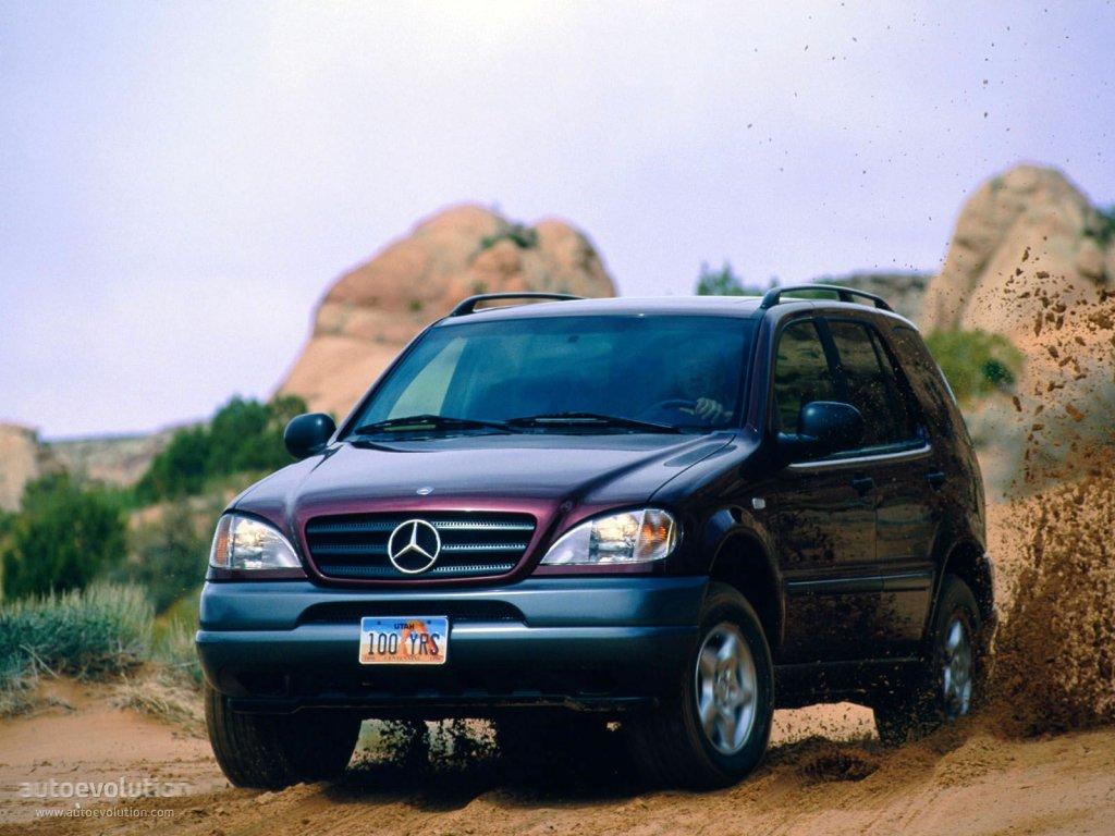 Mercedes-Benz M-klasse I (W163) 1997 - 2001 SUV 5 door #3