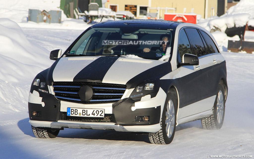 Mercedes-Benz R-klasse I Restyling 2 2010 - now Minivan #2