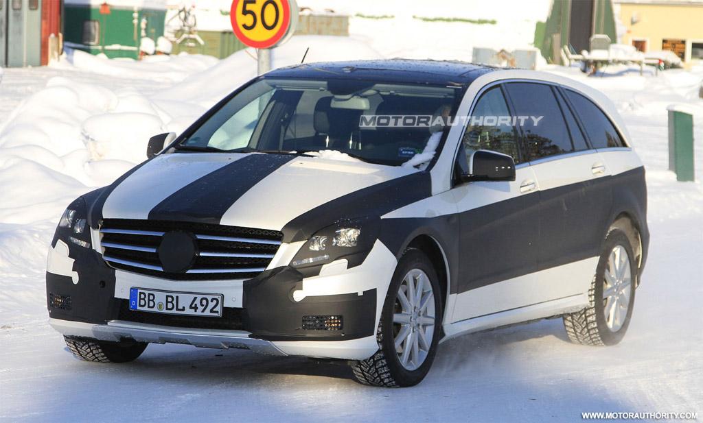 Mercedes-Benz R-klasse I Restyling 2 2010 - now Minivan #1