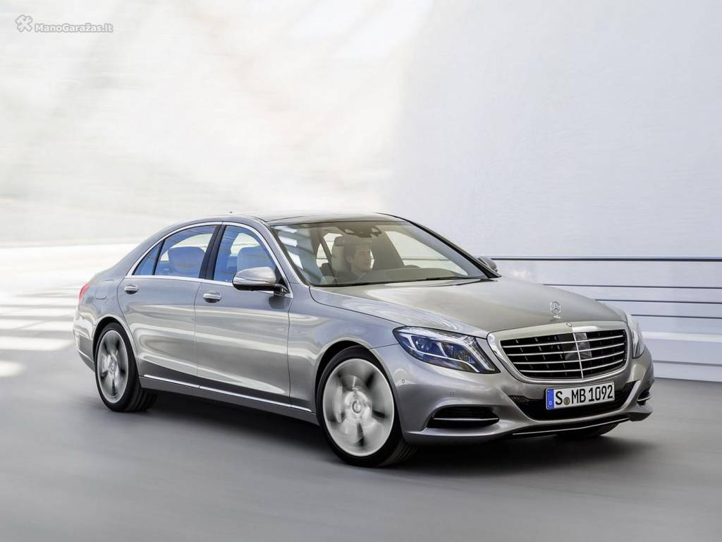 Mercedes-Benz S-klasse VI (W222, C217) 2013 - now Sedan #3