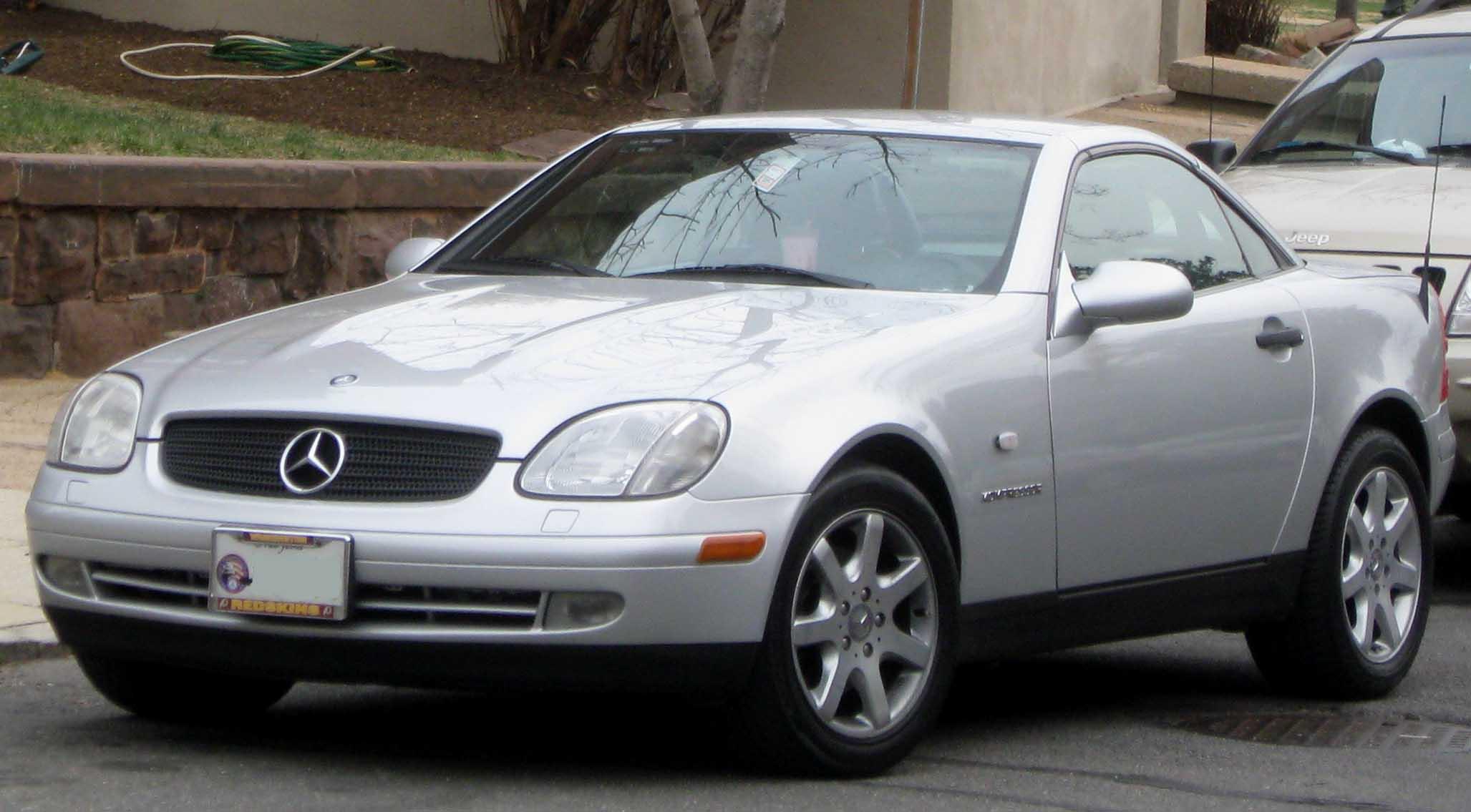 Mercedes-Benz SLK-klasse I (R170) 1996 - 2000 Roadster #5