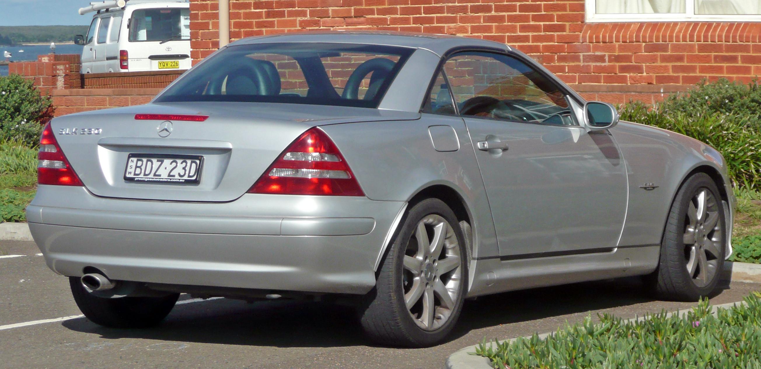 Mercedes-Benz SLK-klasse I (R170) 1996 - 2000 Roadster #7