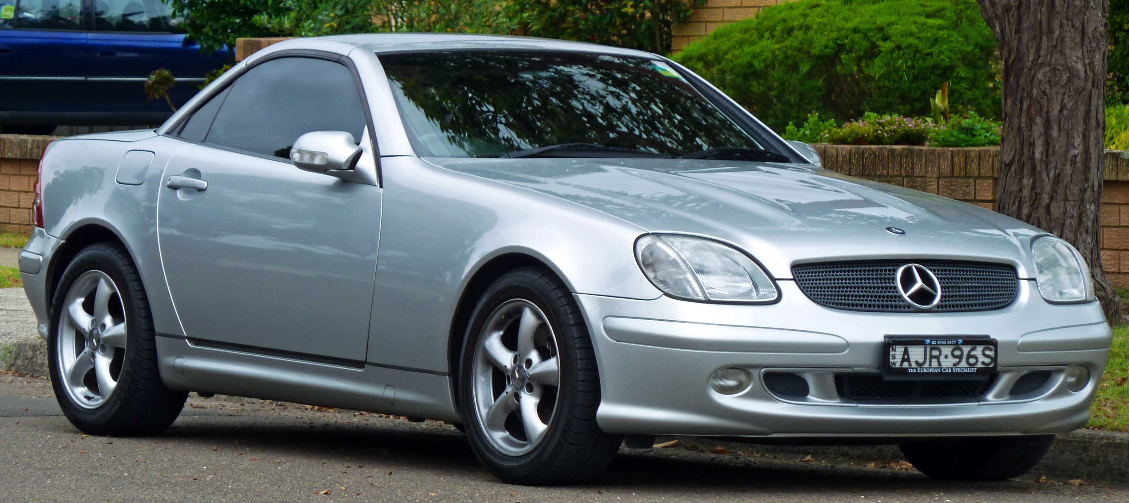 Mercedes-Benz SLK-klasse I (R170) 1996 - 2000 Roadster #4