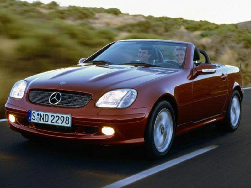 Mercedes-Benz SLK-klasse I (R170) Restyling 2000 - 2004 Roadster #8