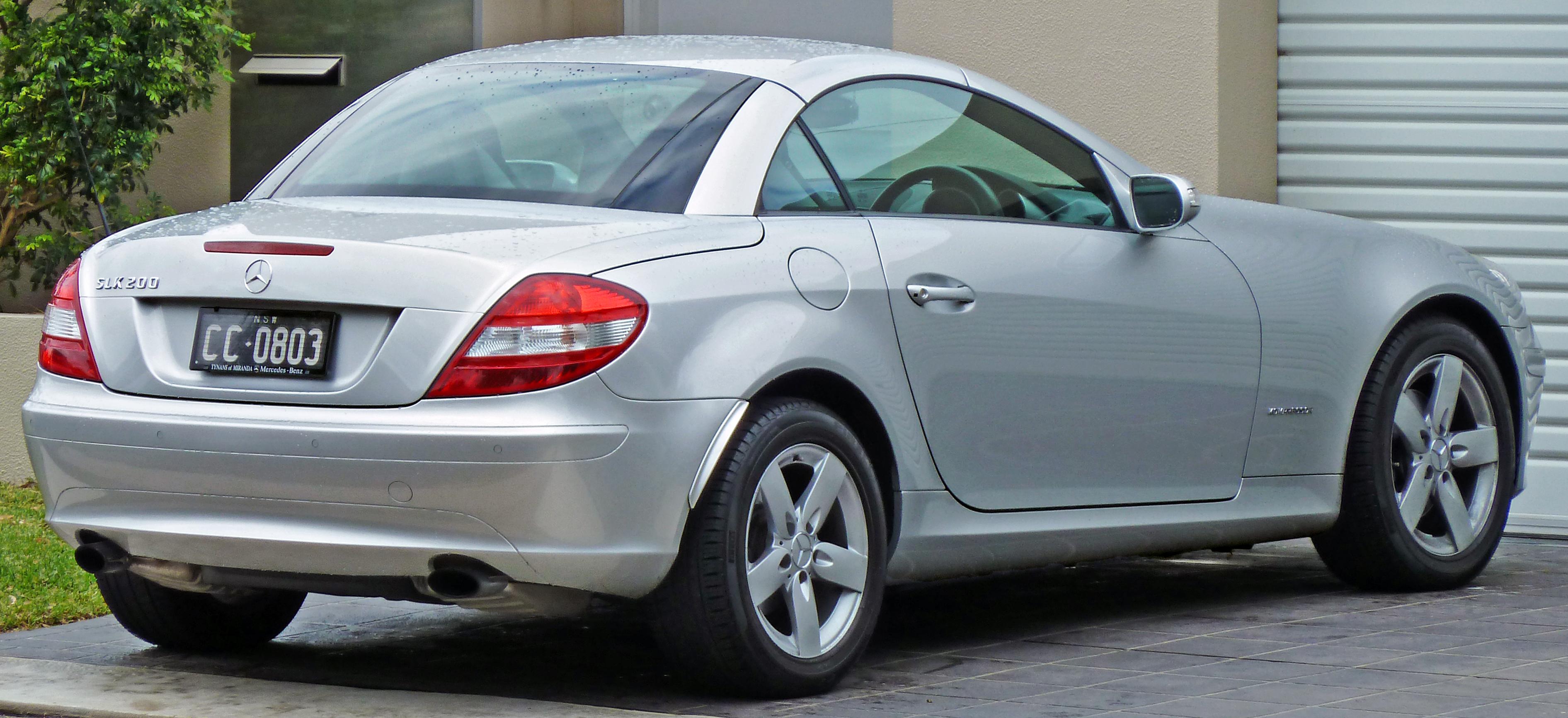 Mercedes-Benz SLK-klasse II (R171) 2004 - 2008 Roadster #3